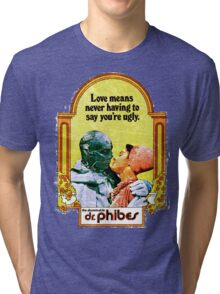 Abominable Dr. Phibes - Love  Tri-blend T-Shirt