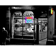 Neon Takeaway Photographic Print