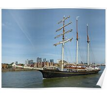 Thames Tall Ships 1.9.13 Poster