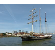 Thames Tall Ships 1.9.13 Photographic Print