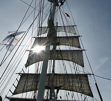 In full sail by brummieboy