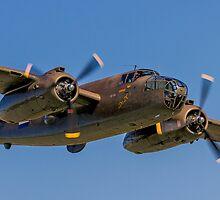 B-25J Mitchell 42-32511 PH-XXV 'Sarinah' lowdown by Colin Smedley