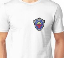 Hylian Shield 8-bit Unisex T-Shirt