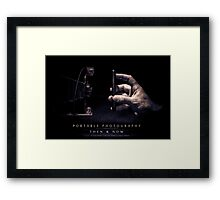 Portable Photography, Then & Now Framed Print