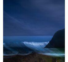 Blue Cove #6    Falling Tide Photographic Print