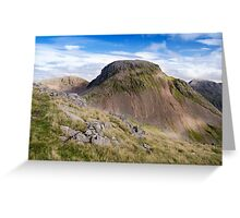 Great Gable, Lake District National Park Greeting Card