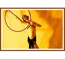 Amber Dancer Photographic Print