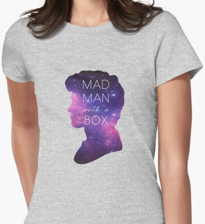 Madman With A Box Womens Fitted T-Shirt