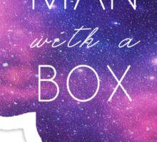 Madman With A Box Sticker