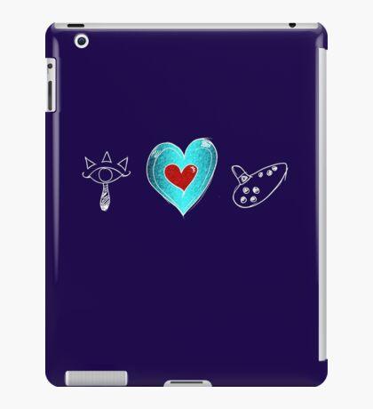 I <3 Ocarina - sketchy iPad Case/Skin