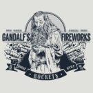 Gandalf's Fireworks -Dark- by Azafran