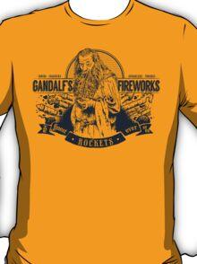 Gandalf's Fireworks -Dark- T-Shirt