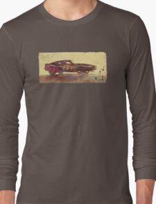 Vintage Look AMC Javelin Trans-Am Pony Car Long Sleeve T-Shirt