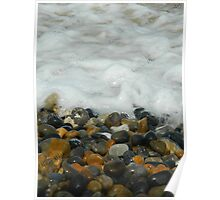 Pebbles & Stones - Cley Beach  Poster