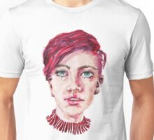 Lolo in Red Stripes Unisex T-Shirt