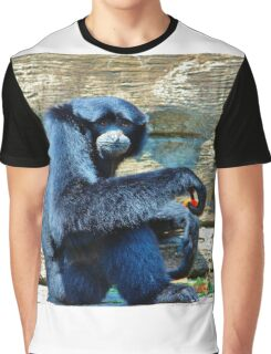 Siamang Having A Snack Graphic T-Shirt