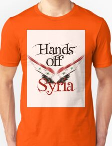 Hands Off Syria Unisex T-Shirt