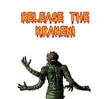 Release the Kraken Photographic Print