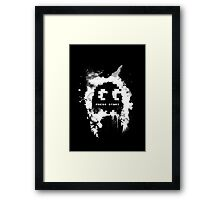 Paint-Man (Alt) Framed Print