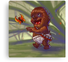 Baby Chewy Canvas Print