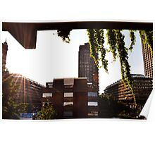 Sunset - The Barbican Centre Poster
