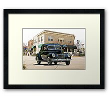 1939 Ford 'Deluxe' Coupe Framed Print