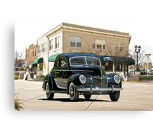 1939 Ford 'Deluxe' Coupe Canvas Print