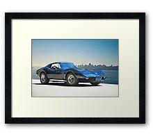 1978 Corvette 'Skyline Vette' Framed Print