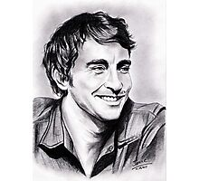 Lee Pace, charming smile Photographic Print