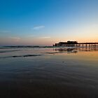 Hastings Sunset by JollyGoodPhoto