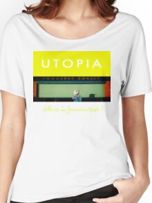Utopia - T-Shirt - Where Is Jessica Hyde? Women's Relaxed Fit T-Shirt