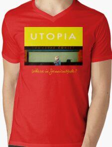 Utopia - T-Shirt - Where Is Jessica Hyde? Mens V-Neck T-Shirt