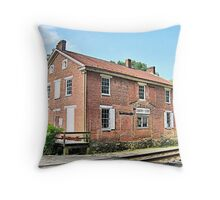 Delaplane Depot Throw Pillow