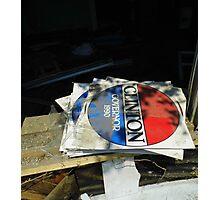 Abandoned Politics Photographic Print