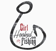 Ladies Fly Fishing Design Kids Clothes