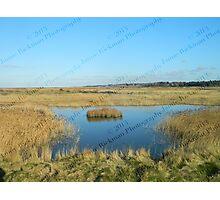 Lone Island - Blakeney to Cley Walk  Photographic Print