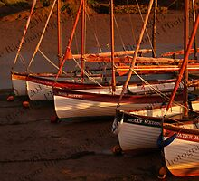 Row Of Boats, Blakeney  by jamierickman