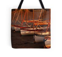 Row Of Boats, Blakeney  Tote Bag