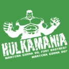 Incredible Hulkamania by inesbot