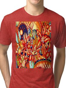 Flowers from Mars Tri-blend T-Shirt