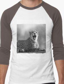 Cheetah (Acinonyx jubatus) Men's Baseball ¾ T-Shirt