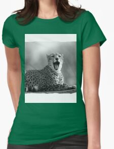 Cheetah (Acinonyx jubatus) Womens Fitted T-Shirt