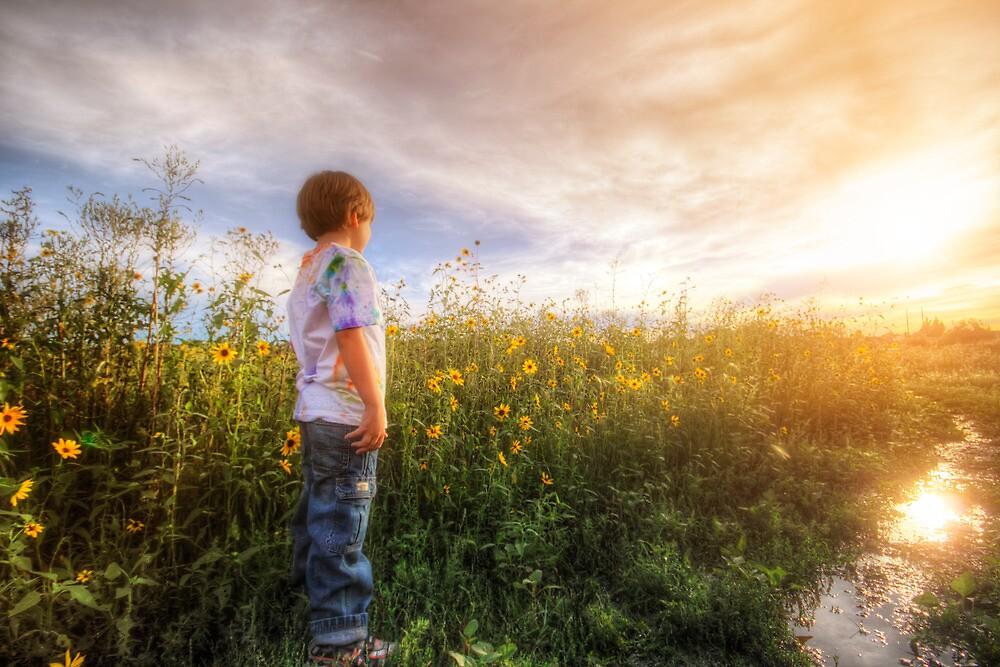 Son Flowers by Bob Larson