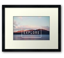 Explore. New Zealand Framed Print