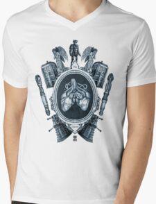 """serie ornate : """"the doctor"""" Mens V-Neck T-Shirt"""