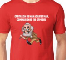 Capitalism and Communism - GrouchoKarl Marx Unisex T-Shirt
