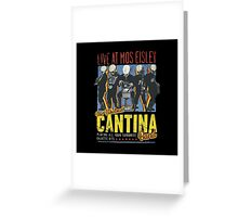 Star Wars - Cantina Band On Tour Greeting Card