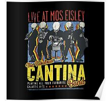 Star Wars - Cantina Band On Tour Poster