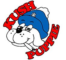 portrait of a Kush Puppie by mouseman