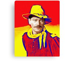 John Wayne in Rio Grande Canvas Print